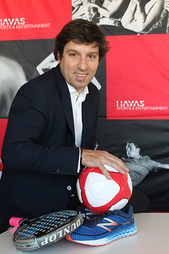 Jaime Colás, director general de Sports en Havas SE