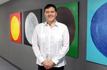 Pau Solanilla, director general de Llorente & Cuenca Cuba