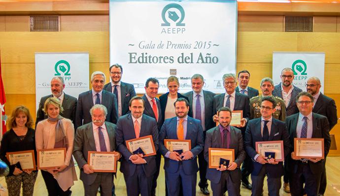 La AEEPP entrega los premios Editores 2016