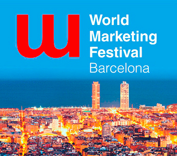 El World Marketing Festival se celebra en Barcelona en julio de 2016.