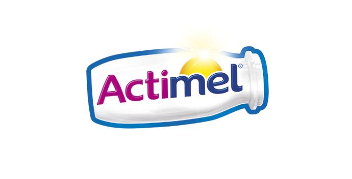 Actimel nuevo logotipo
