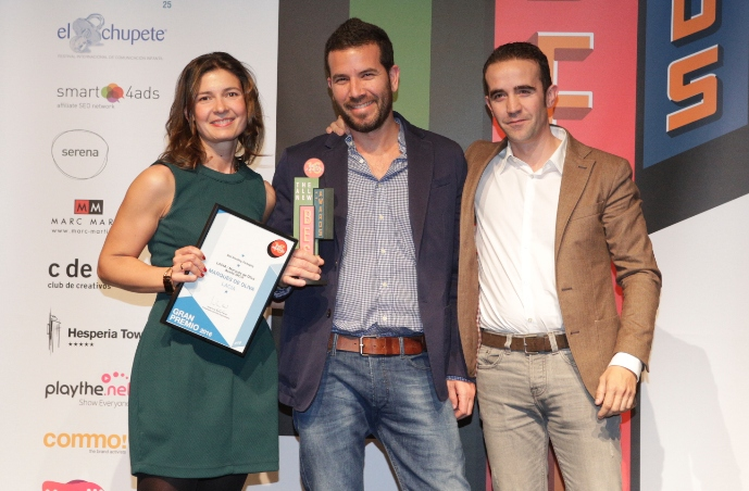 Gran premio en la modalidad de Best Branding Packaging a Marques de Oliva y Lacía  Branding & Packaging.