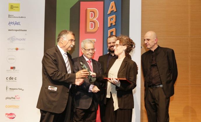 Homenaje a Carlos Rolando en la gala de los Best Awards