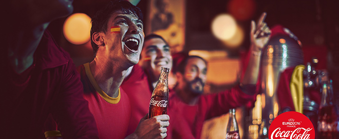Coca-Cola aviva la pasión española por el fútbol