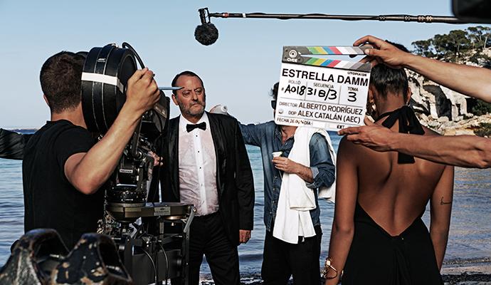 Jean Reno, protagonista de la próxima campaña de Damm