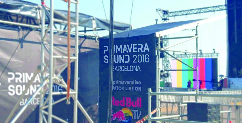 Base3 trabajó junto a Red Bull España en el festival Primavera Sound 2016