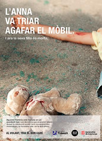 Manifiesto crea la nueva campaña publicitaria del Servei Català de Trànsit