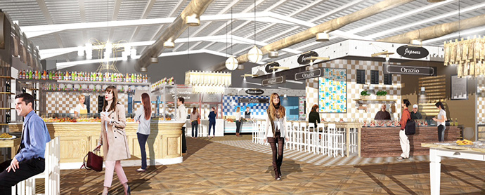 Coolinary Food & Fun Market, un nuevo espacio para eventos y ocio en Barcelona