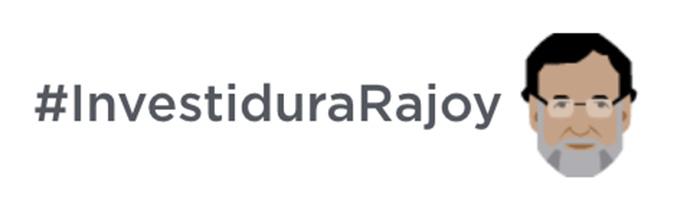 Emoji-#InvestiduraRajoy
