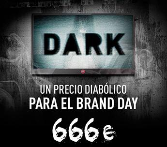 Dark subasta la publicidad de su primer día de emisión
