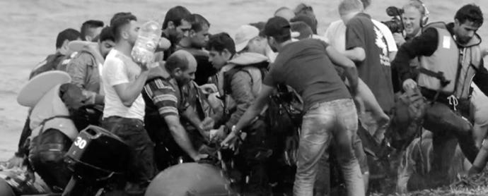 Evil Love, campaña pro refugiados de la Generalitat de Cataluña