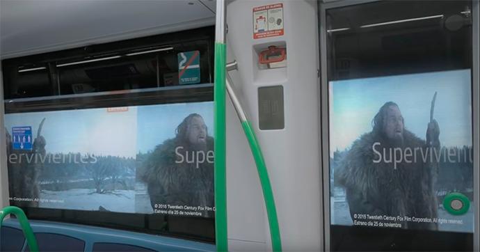 La publicidad llega al túnel del metro
