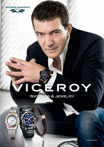 Viceroy lanza nueva colección con Antonio Banderas
