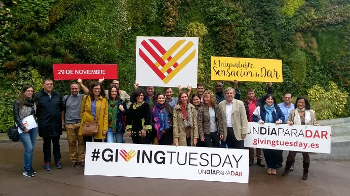 #GivingTuesday, la inigualable sensación de dar
