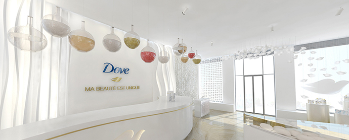 Dove abre su primera tienda pop-up en París