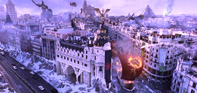 Fotograma del spot de lanzamiento de HBO España.