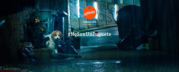 #nosonunjuguete-fundacion-affinity