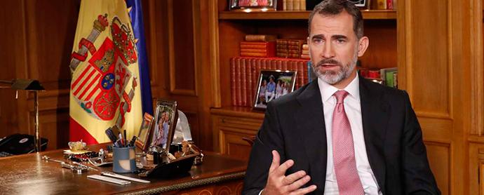 El discurso del Rey: menos audiencia en TV y más presencia en RRSS