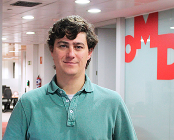 Álvaro Corrochano, business development manager de OMD España