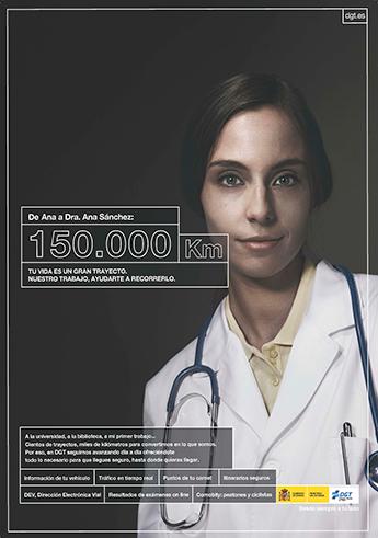 'El trayecto de tu vida', nueva campaña de la DGT