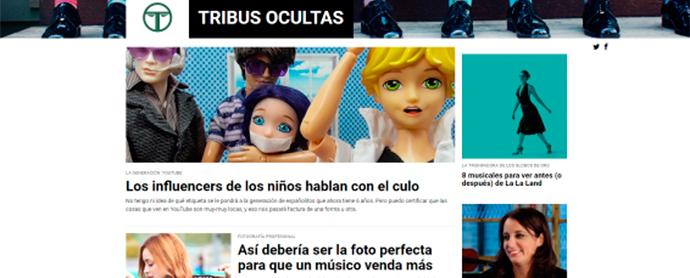 Atresmedia Digital lanza el portal Tribus Ocultas