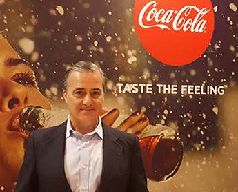 Manuel Arroyo, director general de Coca-Cola Iberia
