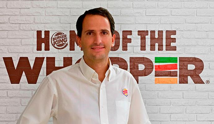 Borja Hernández de Alba, director general de Burger King España
