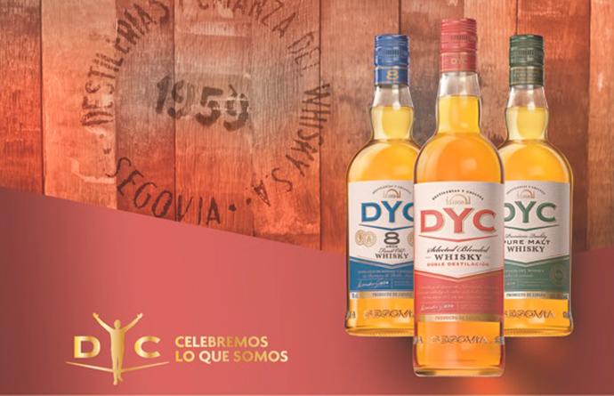 DYC actualiza sus botellas por primera vez