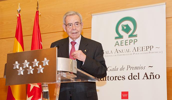 Miguel de Haro, presidente de honor de la AEEPP