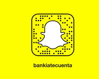 Bankia lanza el primer canal Snapchat del sector bancario español