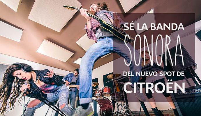 Citroën busca compositor para la banda sonora de su próximo spot