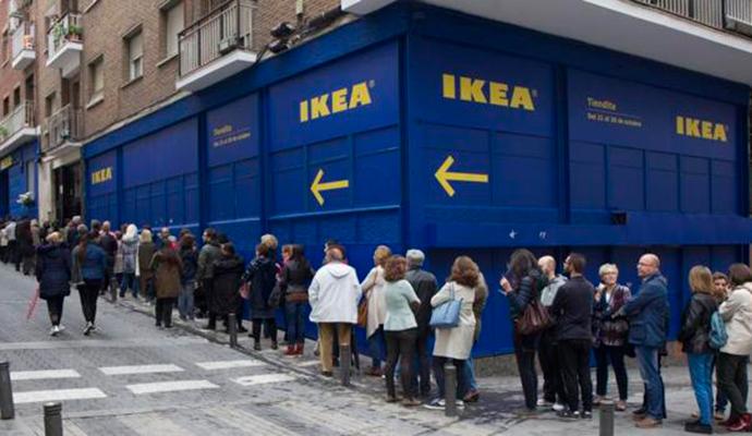 IKEA abre tienda en Serrano 55
