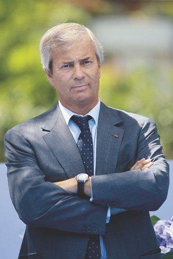 Vincet Bolloré, presidente de Vivendi.