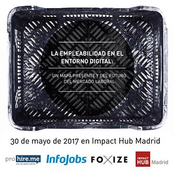 """""""La empleabilidad en el entorno digital"""": Open Session, 30 de mayo en Madrid"""