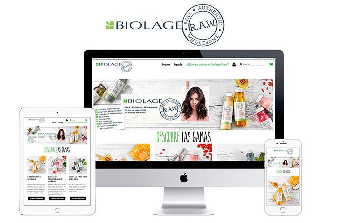 agencia-de-publicidad-ClickNaranja-Biolage-Raw