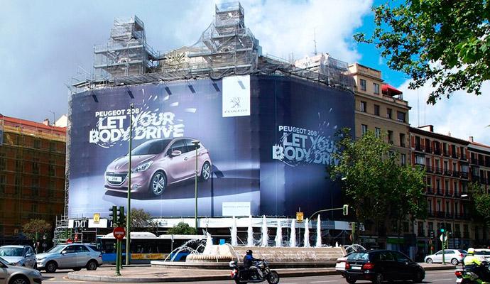El Ayuntamiento de Madrid redobla su cruzada contra la publicidad exterior