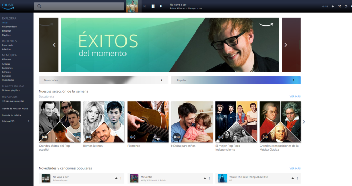 Amazon lanza en España Amazon Music Unlimited
