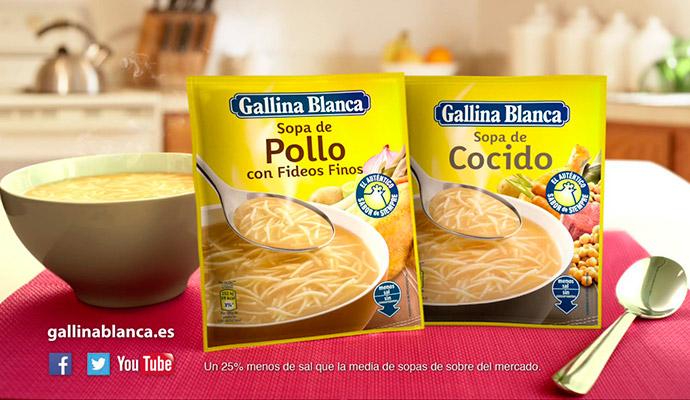 Gallina Blanca, la marca que inventó los cubitos Avecrem en plena Guerra Civil