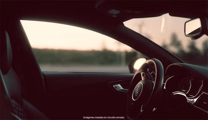Audi 'ficha' al Hombre Invisible para promocionar su tecnología de conducción autónoma