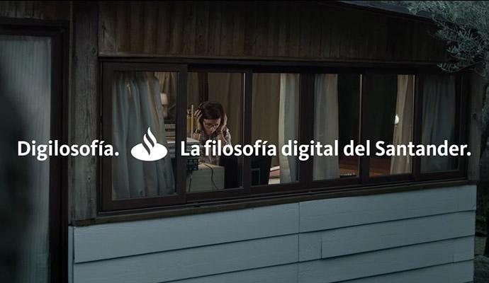 'Digilosofía' plasma el posicionamiento del Santander