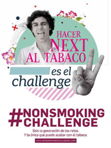 #NONSMOKINGCHALLENGE-campaña-publicitaria-Sanidad