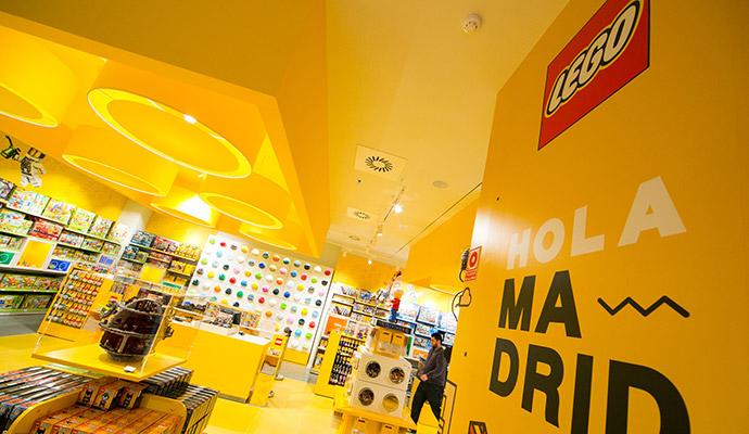 Madrid alberga ya la primera tienda física de Lego en España