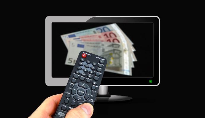 La inversión publicitaria en televisión se frenó en 2017