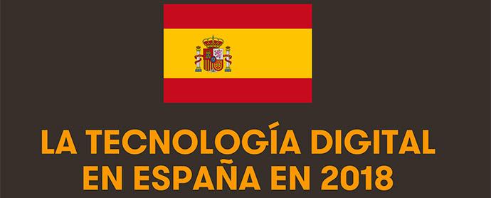 Tecnología digital en España: 5,5 horas diarias viviendo en Internet