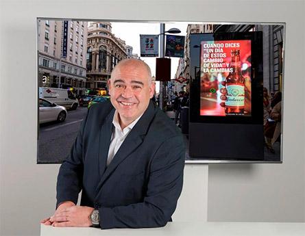 Jordi Sáez asume las responsabilidades de consejero delegado en la filial española de Clear Channel, multinacional dedicada a la publicidad exterior.