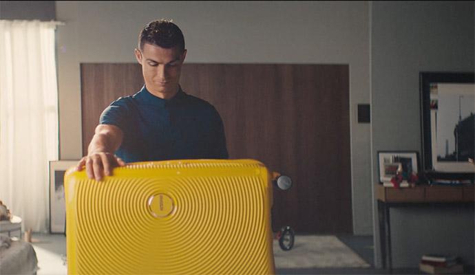 campaña-publicitaria-American-Tourister-Cristiano-Ronaldo