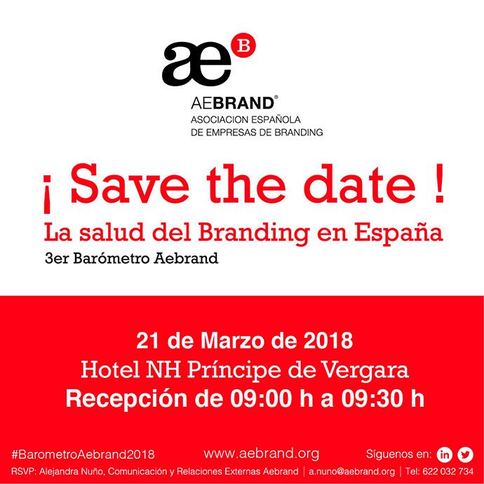 Aebrand e IPMARK te invitan a chequear la salud del branding en España