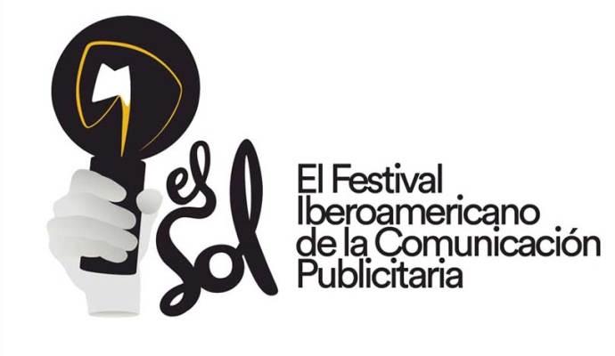 Logotipo de El Sol. Festival Iberoamericano de la Comunicación Publicitaria, cuya 33 edición se celebrará en Bilbao del 31 de mayo al 2 de junio de 2018.