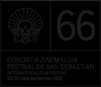 Logotipo de la 66 edición del Festival de San Sebastián