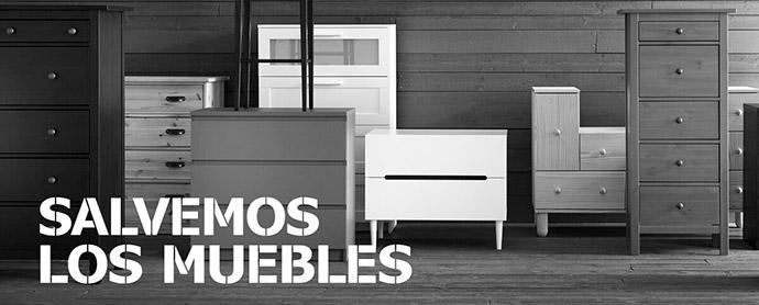 #SalvemosLosMuebles es un proyecto ecommerce comprometido con la denominada economía circular y el medioambiente.